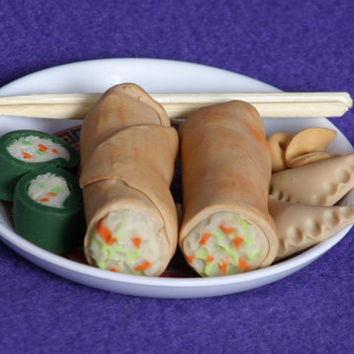 Chinese dinner doll food for American Girl dolls
