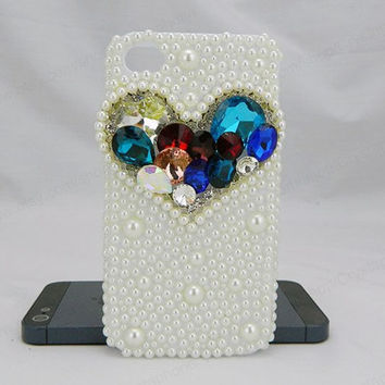 Love case colorful iPhone case,bling iphone 6 case,Crystal iphone 6 Plus,Rhinestone iphone 5/5S/5c,iphone 4 case samsung galaxy S3/S4/S5
