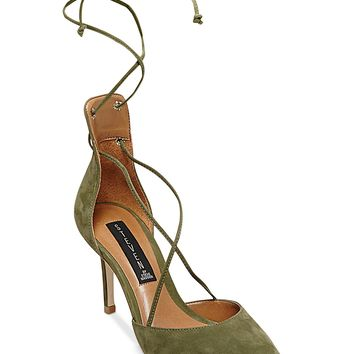 STEVEN by Steve Madden Spiceyy Lace-Up-Leg Pumps
