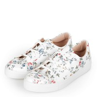 CYPRUS Floral Trainers - Topshop