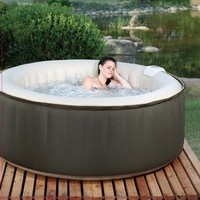 Therapurespa EST5868  4-Person Inflatable Portable Hot Tub with Storage Bag