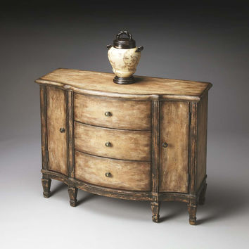 Old Spanish Mission Console Cabinet Artists' Originals - 0674270