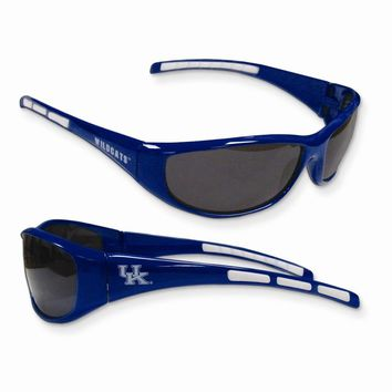 Collegiate Kentucky Wrap Sunglasses