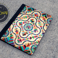 Lovely Quilt Pattern iPad 2/3/4 Folio Case