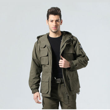 US ARMY Tactical Military Winter Coat Men Outdoor Thermal Cotton AIRBORNE Jacket for Sports Airsoft Hunting Shooting EDC Clothes