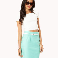 Essential Belted Skirt