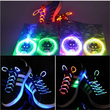 TrendyQueen-Boys Girls Kids Light Up LED Shoelaces Flash Party Disco Shoe Laces Shoe Strings Free Drop shipping Stock = 1946785732
