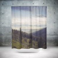 Mountains Forever Shower Curtain