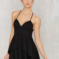 Spin Me Round Plunging Dress