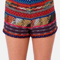 Billabong Step Outside Lima Woven Print Shorts