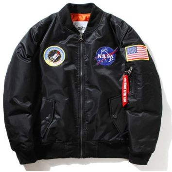 Space Walk Streetwear Bomber