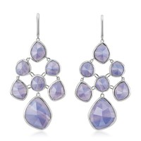 Monica Vinader Siren Blue Lace Agate Chandelier Earrings | Harrods.com