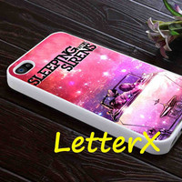 Sleeping With Sirens Cover Album Nebula Galaxy Case for iPhone 4/4S/5/5S/5C, Samsung Galaxy S3/S4, iPod touch 4/5, htc One x/x+/S
