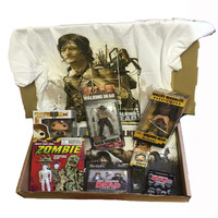 The Walking Dead Mega Mystery Box - full of Zombie Goodies!