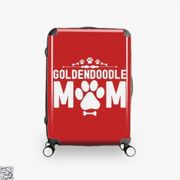 Goldendoodle Mom, Family Love Suitcase