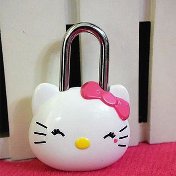 Xingkings New Hello Kitty Cute Safety Password Lock KX-JY80061 6921257600611