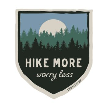 Hike More Decal