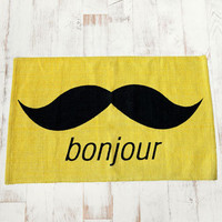 Urban Outfitters - Yellow Bonjour Rug