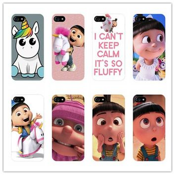 Minion My Unicorn Agnes fashion Case Cover for Samsung Galaxy S3 S4 S5 S6 S7 Edge for iPhone 5 5s 5c SE 6 6s 7 Plus phone cases