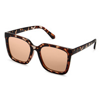 Genesis Mirrored Oversized Sunglasses