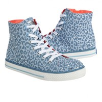 Leopard High Top Sneakers