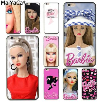 MaiYaCa for barbie Bitch doll face 1959 Fashion Fun Dynamic phone case for Apple iPhone 8 7 6 6S Plus X 5 5S SE XS XR XS MAX