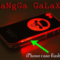 iphone case,Psych clear flashing,iphone 5 case,iphone 4/4s case,samsung s3,s4 case,accesories,cell phone,hard plastic.