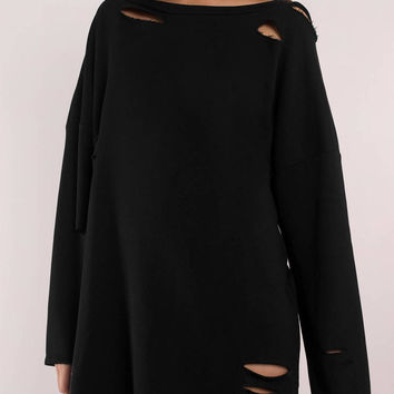 Show Off Shoulder Sweater Dress