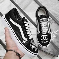 Vans X CHANEL Classics Old Skool Black Sneaker