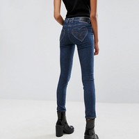 Love Moschino Heart Pocket Jeans at asos.com