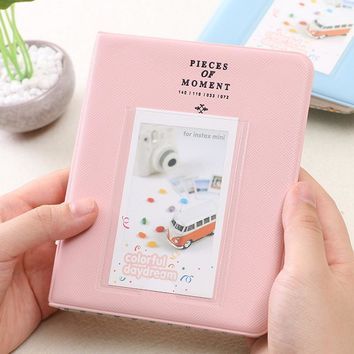 64 Pockets Mini Polaroid Instant Photo Album Picture Case Storage Fujifilm Instax Film Unique Classic Korea Style 7s 8 25 50s 90