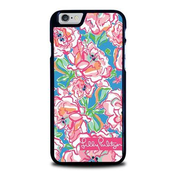 lilly pulitzer charms iphone 6 6s case cover  number 1