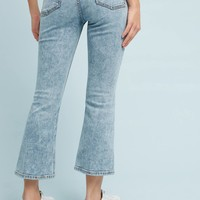 Pilcro Mid-Rise Bootcut Cropped Jeans