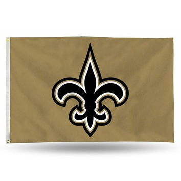 New Orleans Saints 3ft x 5ft Banner Flag
