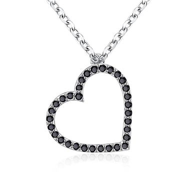 S925 Silver Necklace Love Zircon Fashion Necklace