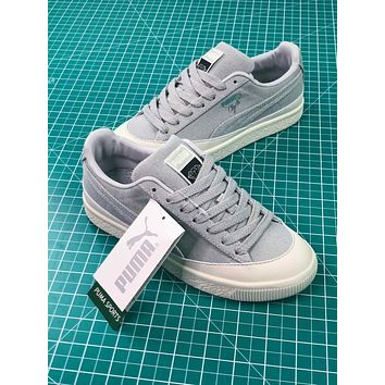 Diamond Supply Co. X Puma Clyde Grey Women's Sneakers Shoes - Sale