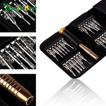 25 in 1 Torx Screwdriver Set Repair Tool for iPhone Cellphone Tablet PC Camera Watch Five-star/Y/Cross/Flat/Point