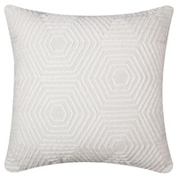 Nate Berkus™ Heavy Embroidered Pillow - Gray
