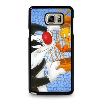 SYLVESTER AND TWEETY Looney Tunes Samsung Galaxy Note 5 Case Cover