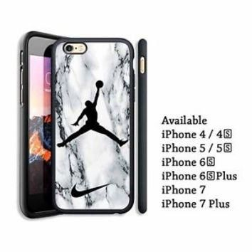 Best Nike Air Jordan Marble Custom For iPhone 7, 7 Plus Print On Hard Case