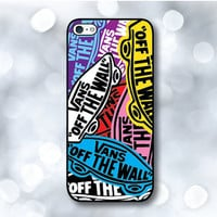 iPhone 5 Case - Vans off the wall