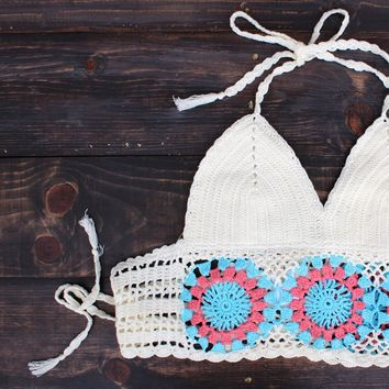 urban festival crochet crop top
