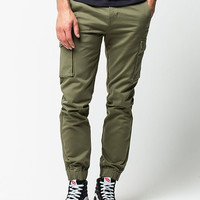 Levi's Banded Cargo Mens Jogger Pants Olive  In Sizes