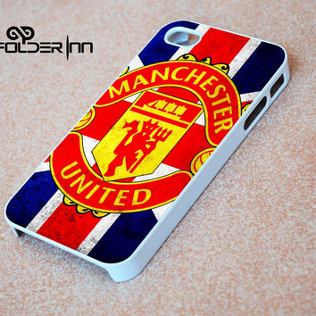 Manchester United flag iPhone 4s iphone 5 iphone 5s iphone 6 case, Samsung s3 samsung s4 samsung s5 note 3 note 4 case, iPod 4 5 Case