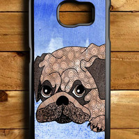 Painting Pug Samsung Galaxy S6 Case