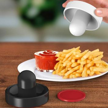 Air Hockey Push Salt & Pepper Shaker Set