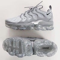 Gotopfashion Nike Air Vapormax Trending Women Men Running Sneakers Sport Shoes Pure Grey