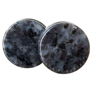 Domestic Labradorite Stone Plugs (3mm-25mm)