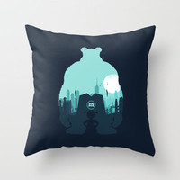 Welcome To Monsters, Inc. Throw Pillow by filiskun | Society6