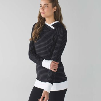think fast hoodie | women's long sleeve running tops | lululemon athletica
